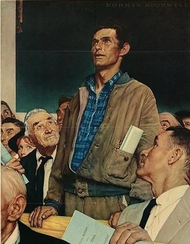Norman-Rockwell-Save-Freedom-of-Speech
